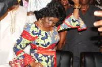 Former First Lady, Nana Konadu Agyemang Rawlings  File photo