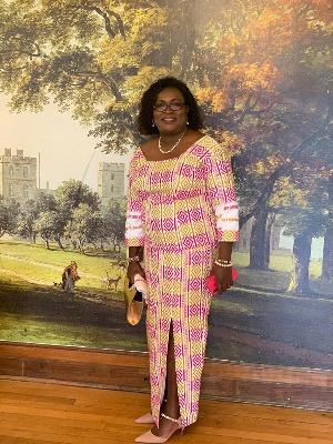 Ghanaian midwife, Mrs. Angelina Ankomah