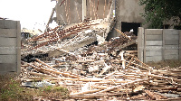 The Collapsed Dzorwulu Primary and JHS