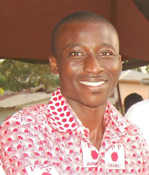 Frank Aboagye Danyansah, PPP Parliamentary Candidate for Obuasi East
