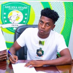 Aduana Stars defender Caleb Amankwah