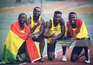 Ghana Men Relay