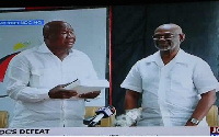 Kwesi Botchwey Committee on Monday submitted its report on the poor performance of NDC