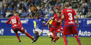Yaw Yeboah recorded impressive stats despite his side's failure to secure a win
