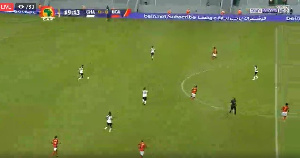 Black Stars are currently playing Uganda at the ongoing AFCON in Gabon