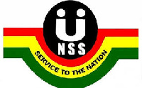The Ghana National Service Scheme (NSS) logo