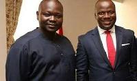 Francis Asenso Boakye (L), Samuel Abu Jinapor (R), Deputy Chiefs of Staff