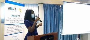 Ms Faustina Djabatey, Communications Officer of GACC