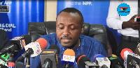 John Boadu, Acting General Secretary of the New Patriotic Party