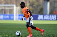 Ghana forward Frank Acheampong