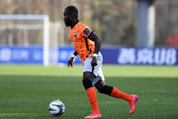 Frank Acheampong excels in Shenzhen big away win over Cangzhou