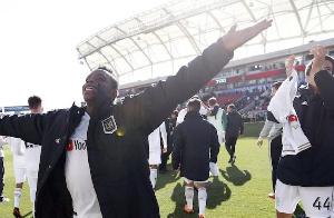Ghanaian forward Latif Blessing