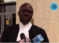 Samson Lardy Anyenini is the Lawyer for the ROPAA plaintiffs