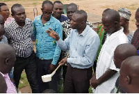 Larval source management entails all activities undertaken at mosquito breeding sites