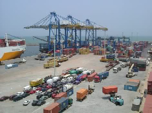 The Tema port