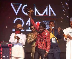 Kuami Eugene won the 2020 VGMA Artiste of the Year