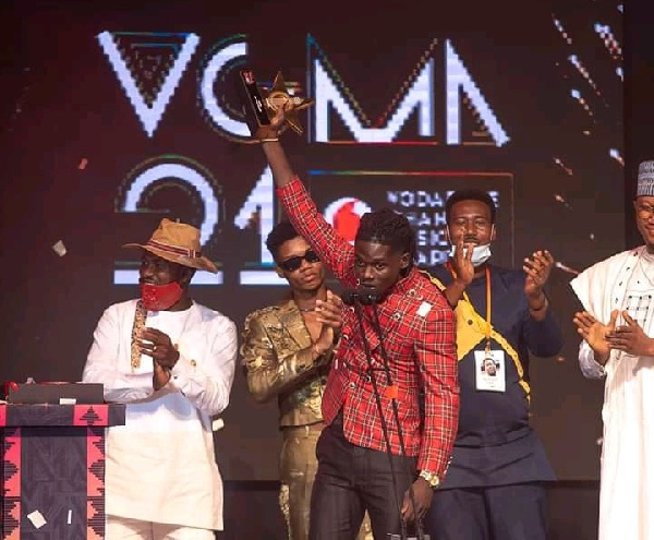 Kuami Eugene was named Artiste of the Year at the 21st VGMA