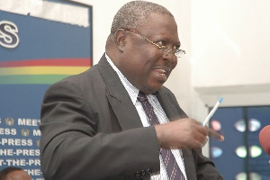The former Special Prosecutor, Martin Amidu