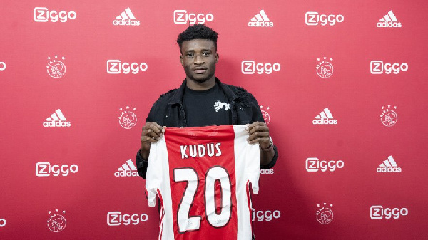 Kudus Mohammed will need time to adapt in Netherlands - Ajax boss Ten Hag