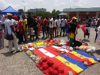 Scenes from the Hearts-Kotoko game at the Accra Sports Stadium