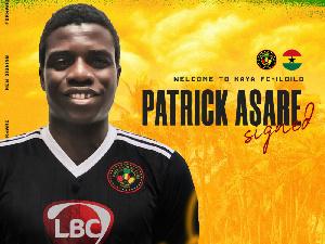 Ghana International Patrick Asare