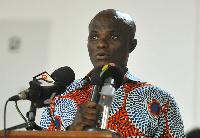 Francis Ato Cudjoe, Deputy Minister of Fisheries and Aquaculture