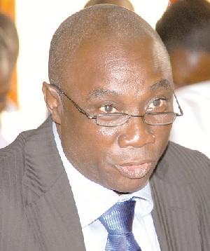 Dr. Kwabena Donkor, Power Minister