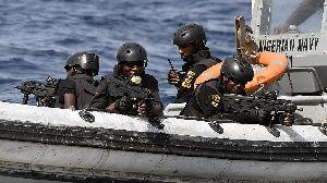 Nigerian special forces sail to intercept pirates off the coast of Lagos