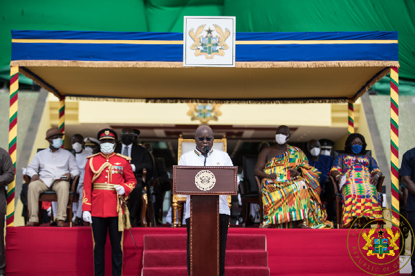 What Prez Akufo-Addo Said At Ghana's 64th Independence Celebration
