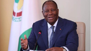 President Alassane Ouattara of Ivory Coast
