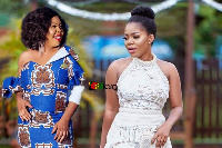 Afia Schwarzenegger and Mzbel