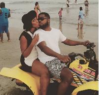Adwoa Saa and her husband
