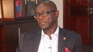 Prince Kofi Amoabeng, CEO of UT Bank