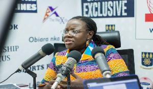 Prof. Nana Aba Appiah Amfo, UG Pro-Vice Chancellor