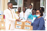 The donation was aimed at supporting the coronavirus campaign