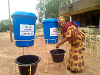 Veronica Buckets have been provided to the schools by the government