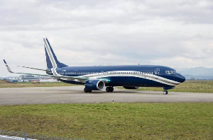 The president has reportedly used the Boeing 737-900ER BBJ3 thrice in six months