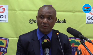 Head coach of Accra Hearts of Oak, Kim Grant