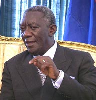 Ex-President, John Agyekum Kofour