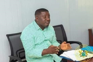 Michael Peprah is President of the Small Scale Miners Association