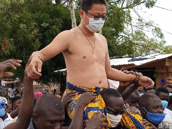 A lot of concern has been expressed about the growth of Chinese people in Ghana