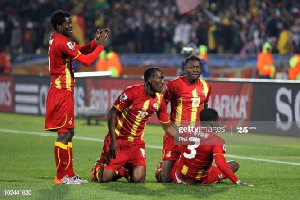 Black Stars Players At The 2010 FIFA World Cup In South Africa