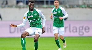 St. Gallen and Ghanaian defender Musah Nuhu