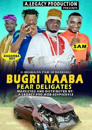 Poster of Daniel Bugri Naabu's ordeal scripted for a movie production