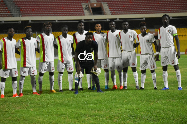 Eleven Wonders pip 1-0 Legon Cities in Techiman