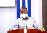 Dr Patrick Kuma-Aboagye, Director-General, GHS
