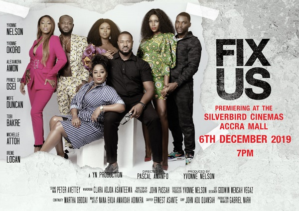 Fix Us was produced by Yvonne Nelson