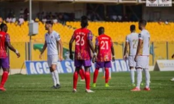Hearts of Oak knocked out of CAF Champions League after 6-1 defeat to WAC