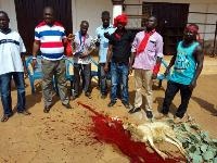 Kwame Baffoe aka Abronye DC invoking curses prior to the December 7 polls