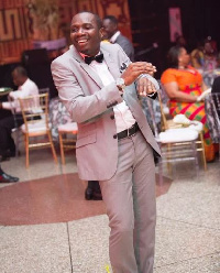 Rev. Counsellor Cyril George Carstensen Lutterodt at 2016 EMY Awards